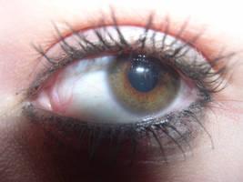 Hazel eye by NayoAngel