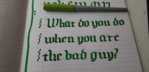 What do you do? by Indiria619