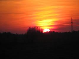 Sunset -3 by SierraDemonica