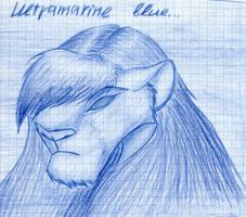 Ultramarine blue by SierraDemonica