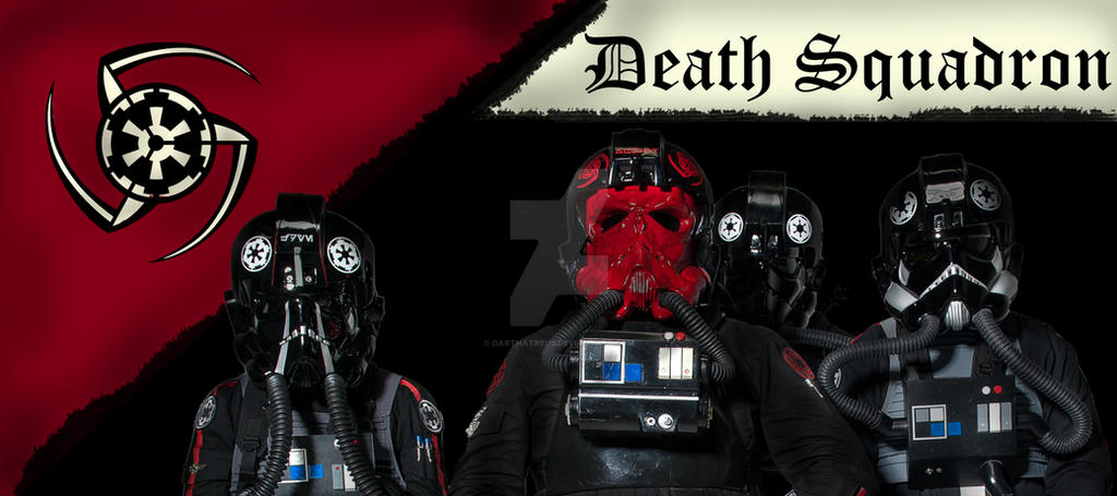 TIE Pilots of Death Squadron by DarthAtreus