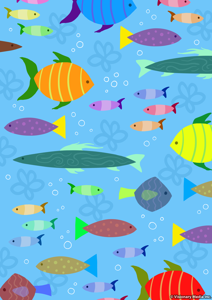 Children 39 s clothing print graphic fish by jrace on deviantart for Fish for kids