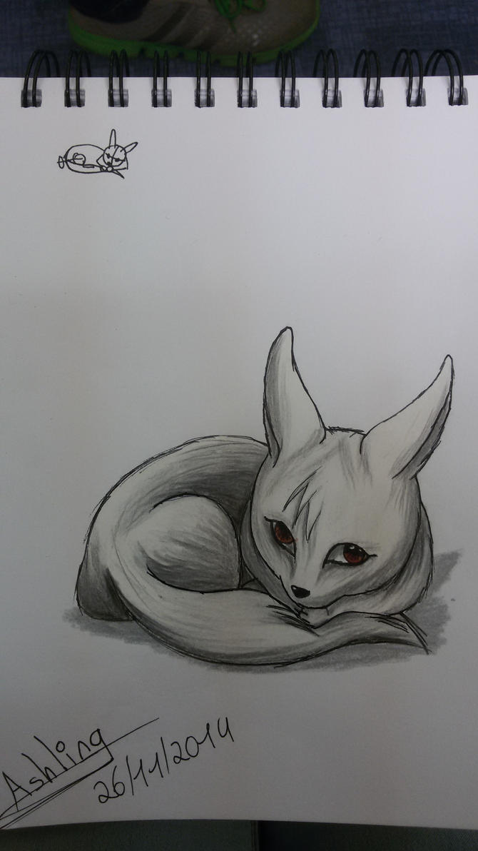 Fennek fox by MissAsling