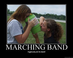 Marching Band: Ingenuity by StuntzTheDude