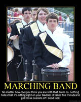 Marching band: Cool by StuntzTheDude