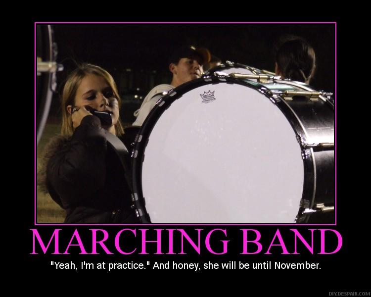Funny percussion quotes quotesgram - Marching Band Drumline Quotes Quotesgram