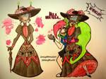 Lady Black Hat + Demencia