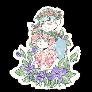 Flowers by Jizue