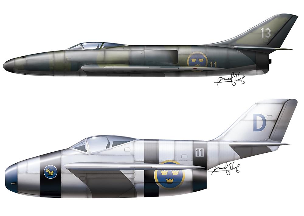 Me P1110 and Focke Wulf II straight back by neuer-geist
