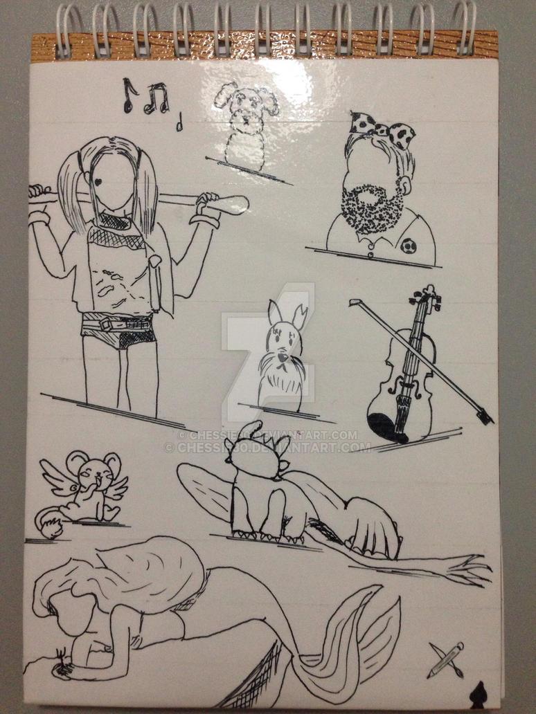 Portada de cuaderno  by chessie30