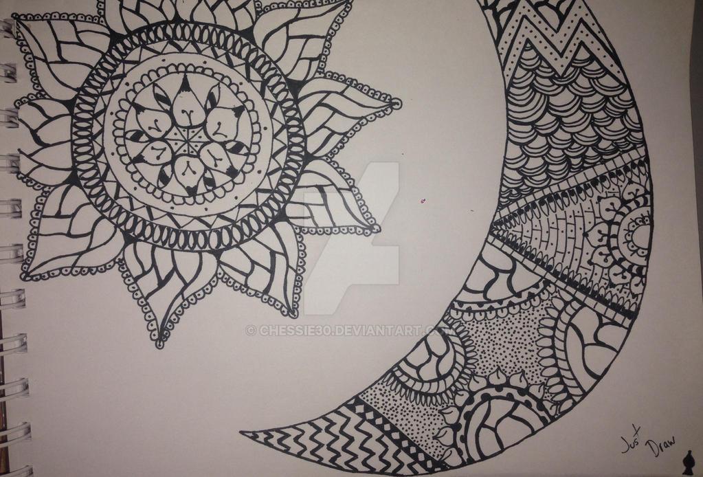 Sol y luna by chessie30