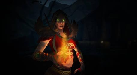 World of Warcraft - Elu'riel Rosestrider by Sincinari