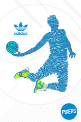 PIXERS's posters collection designed for Adidas