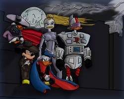 Guardians of Duckburg by PhatSeeJay