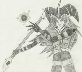 Magician of Black Chaos by captainspadevatore