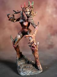 Female Tree Demon Miniature