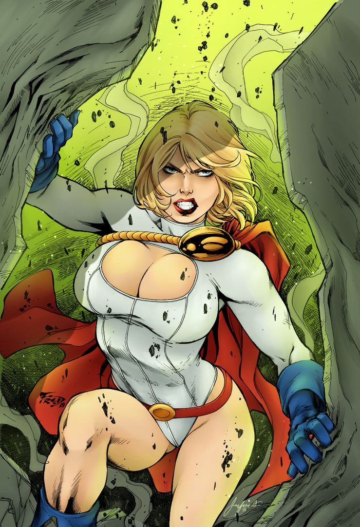 Powergirl by Sorathepanda