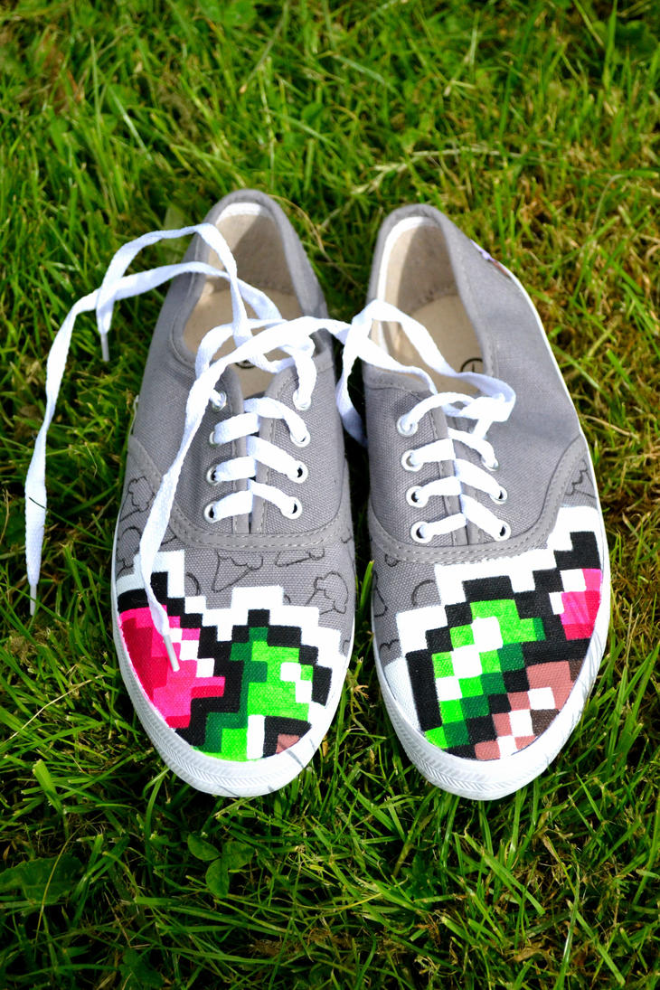 kooma pixel ice cream plimsol by Kooma1306