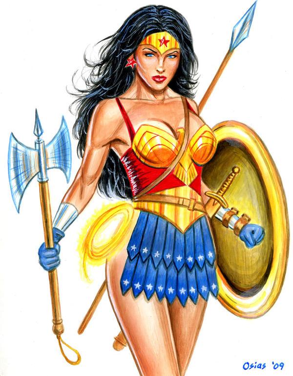 Wonder Woman Battle Gear by Xenomorph71