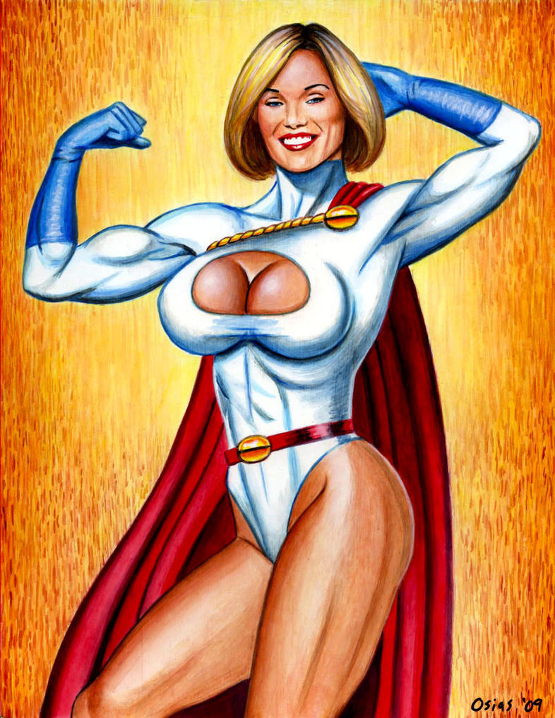 Powergirl 'Strength' by Xenomorph71