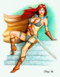 Red Sonja Sword by Xenomorph71