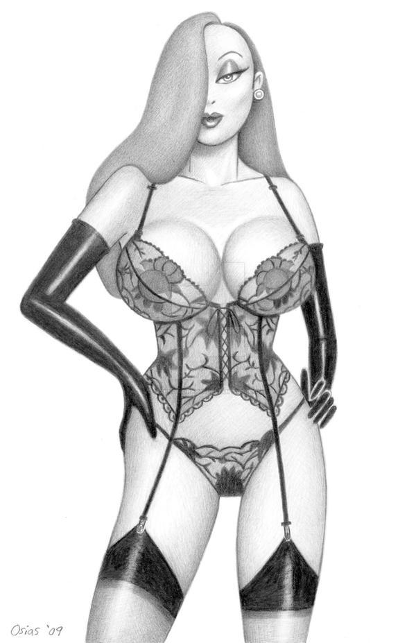 Jessica Rabbit 'Lingerie' by Xenomorph71