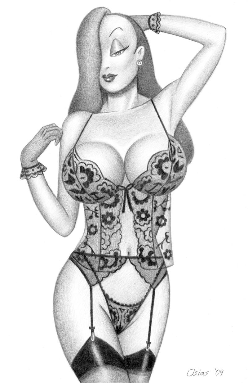 Hot naked drawings of miss rabbit