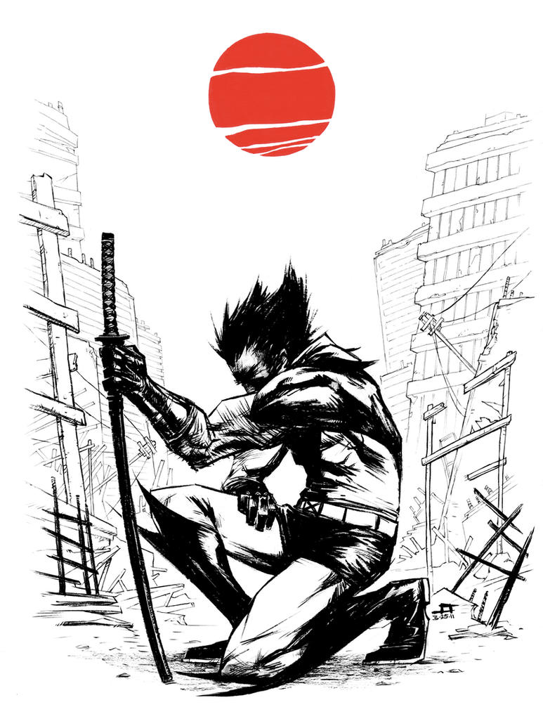 WOLVERINE Japan Relief Auction by JeffStokely