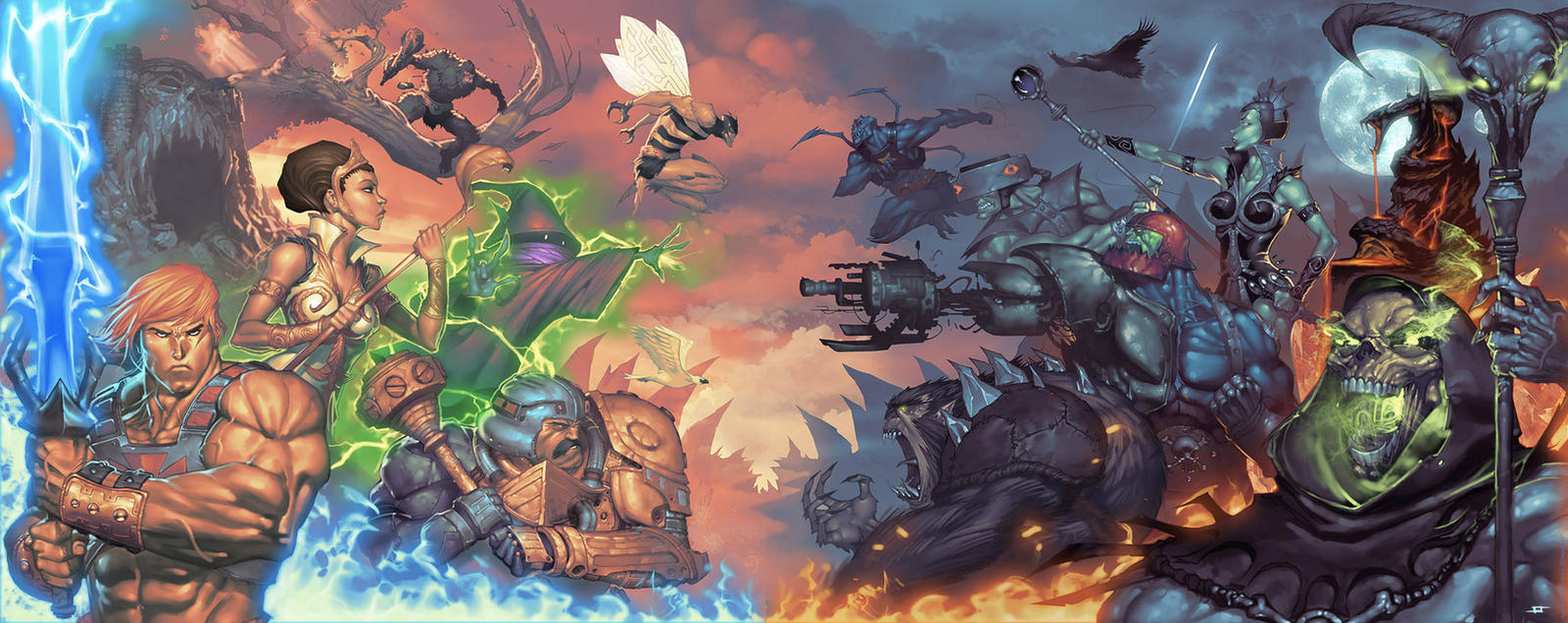 MASTERS OF THE UNIVERSE by JeffStokely