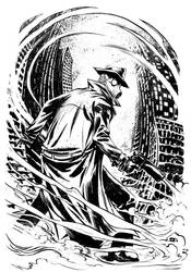 Sandman Mystery Theatre Commission by JeffStokely