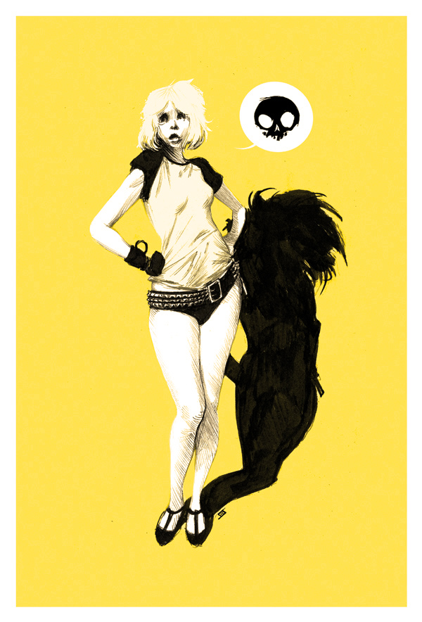 Debbie Harry Print by JeffStokely