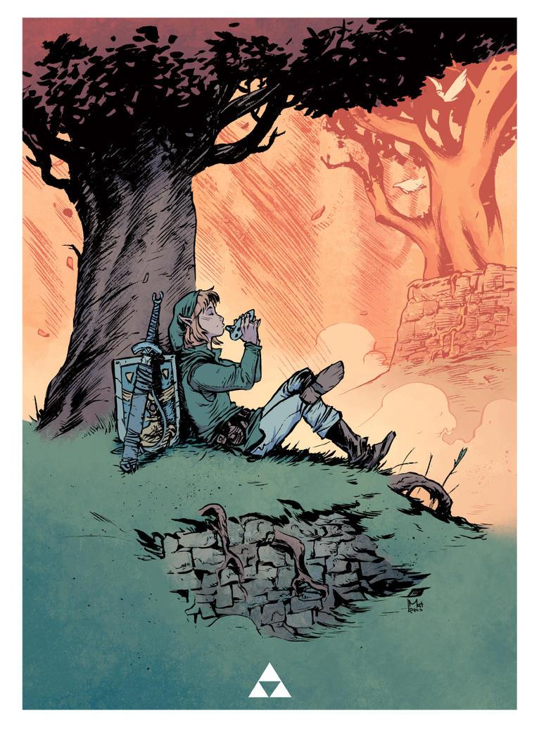 Legend of Zelda by JeffStokely
