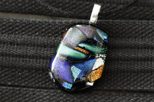 Dichroic Pendant mix colors by Dimolicious
