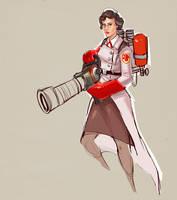 Female Medic by ChemicalAlia