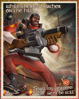 Demoman Poster by ChemicalAlia