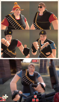 Female Heavy and Hats