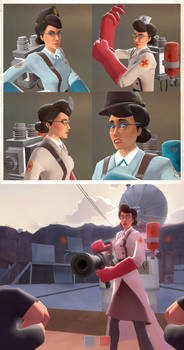 Female Medic and Hats