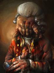 Headcrab zombie portrait by ChemicalAlia