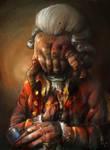Headcrab zombie portrait