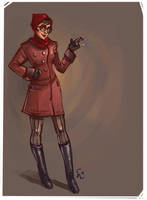 Quick Spy sketch by ChemicalAlia