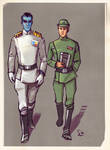 Admiral Thrawn and officer
