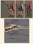 Sniper Shorts set concept