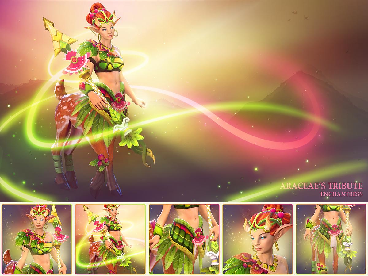 Araceae's Tribute - Enchantress
