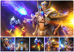 Iceforged - Invoker set for Iceiceice