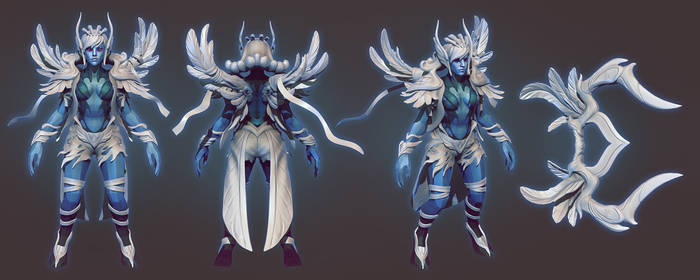 Vengeful Spirit set sculpt