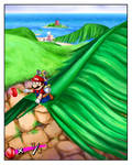 Mario just wants to go home...