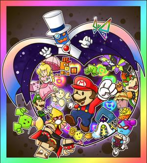 Super Paper Characters