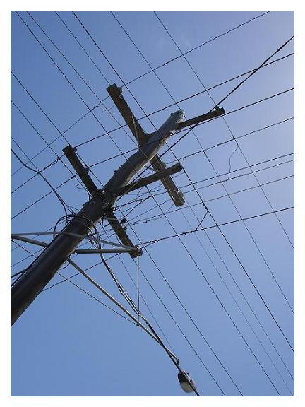 the electric cable