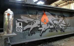 Flame Wall by spoare153