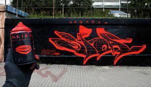 Alien Wall (spoare153, Frankfurt (oder), 2014) by spoare153
